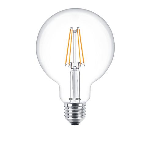 LED Classic 6-70W ST64 E27