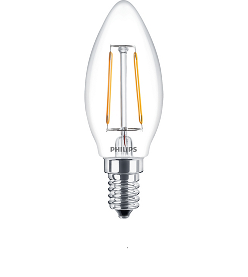 Bóng đèn LEDClassic 2-25W BA35 E14